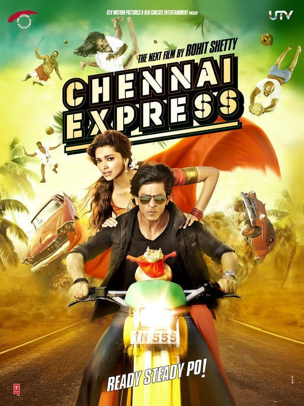 Rohit Shetty's Chennai Express is a classic 2013 Indian action comedy film that features Deepika Padukone and Shah Rukh Khan as the star cast.